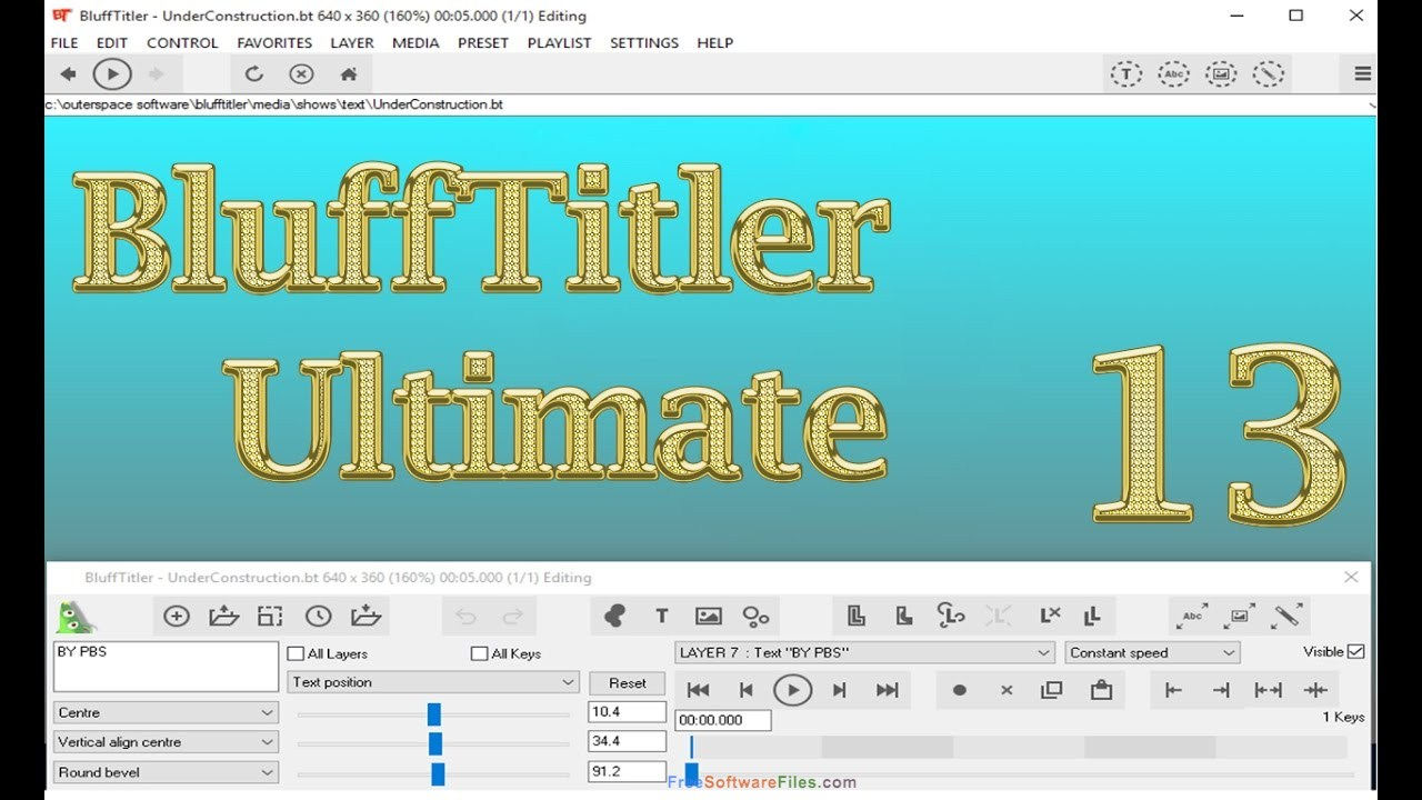 BluffTitler Ultimate full setup download