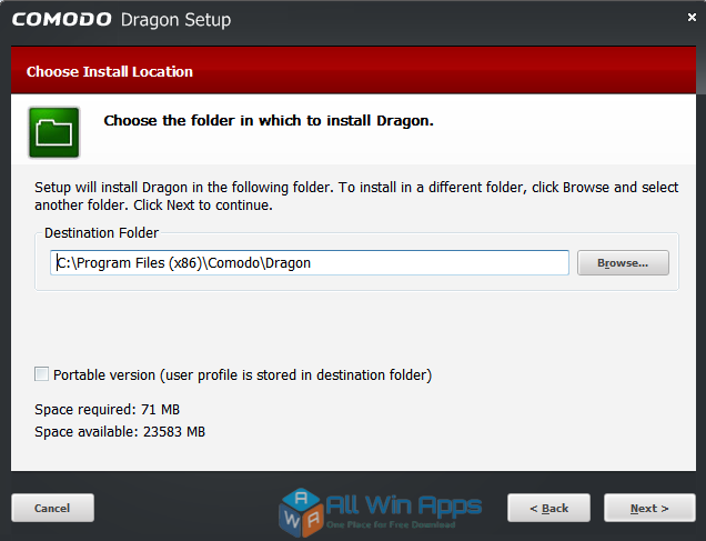 Comodo Dragon Browser 58.0.3029.114 latest version