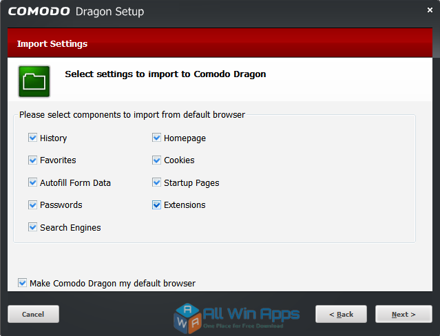 Comodo Dragon Browser 58.0.3029.114 offline installer