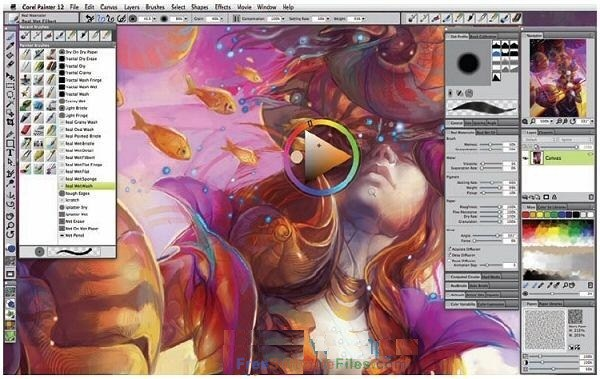 Corel Painter 2018 latest version Free Download
