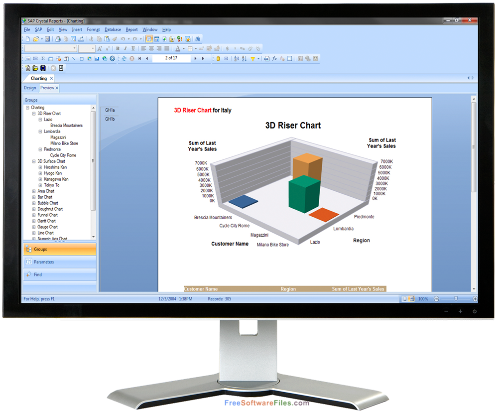 Free Download SAP Crystal Reports v14.1