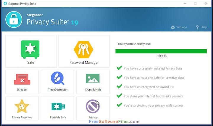 Free Download Steganos Privacy Suite 19
