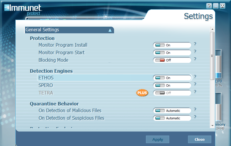 Immunet Protect 6.0.6.10600 Free Download for Windows