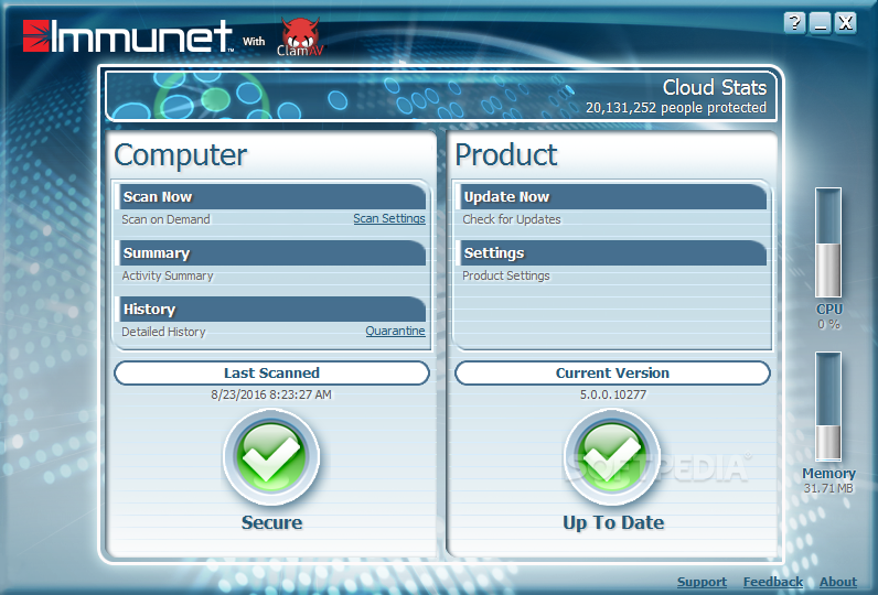Immunet Protect 6.0.6.10600 Free Download latest version