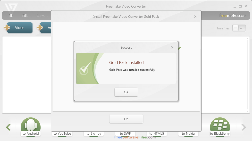 get freemake video converter gold pack for free