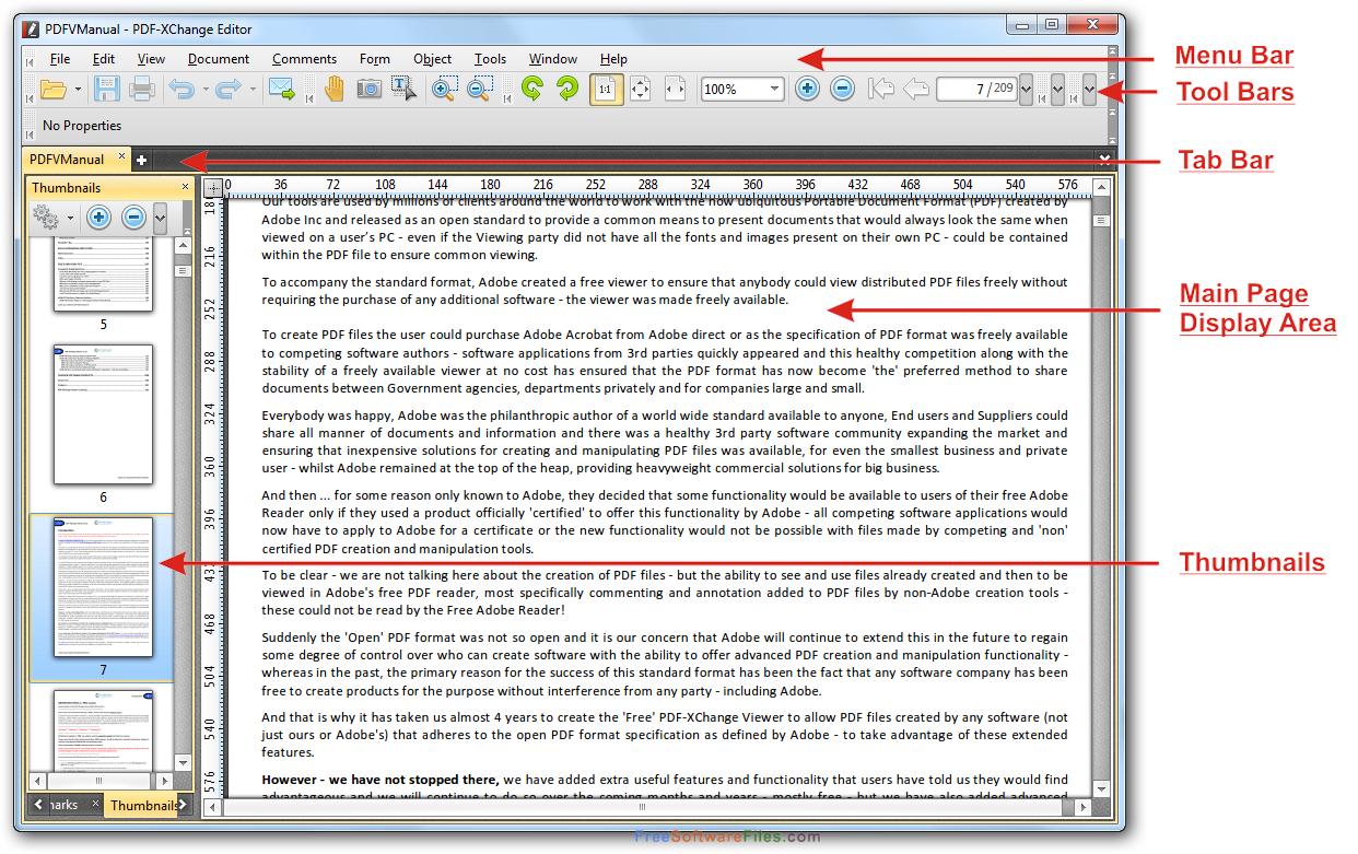 pdf xchange free