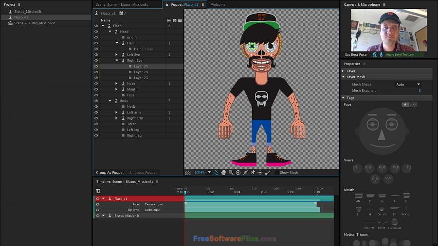 Free Adobe Character Animator CC 2018 Latest Version Download