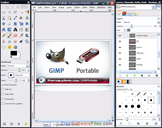 GIMP Portable Latest Version Download