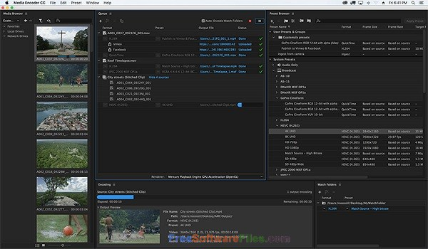 Portable Adobe Media Encoder CC 2018 Direct Link Download