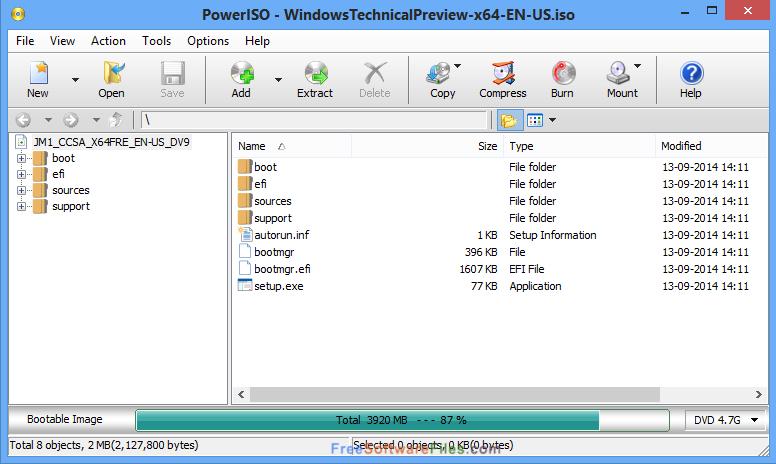 Portable PowerISO 7.0 Offline Installer Download