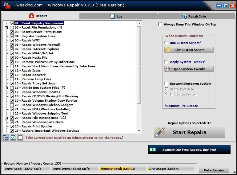Tweaking Windows Repair 4.0.9 Direct Link Download