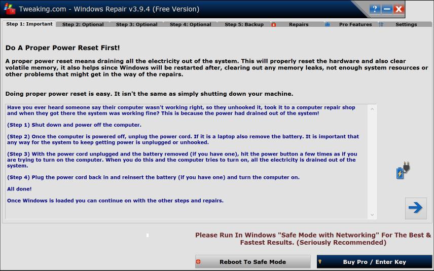 Tweaking Windows Repair 4.0.9 Latest Version Download