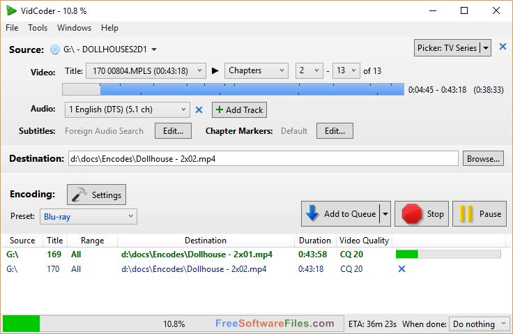 VidCoder 2.59 32 bit Free Download