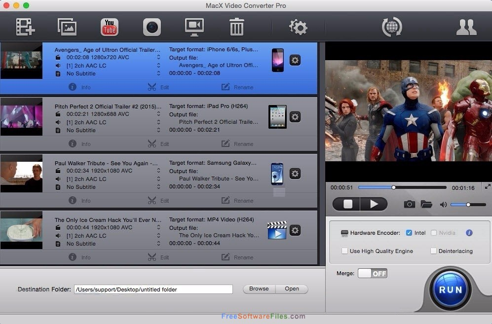 MacX Video Converter Pro Free Download