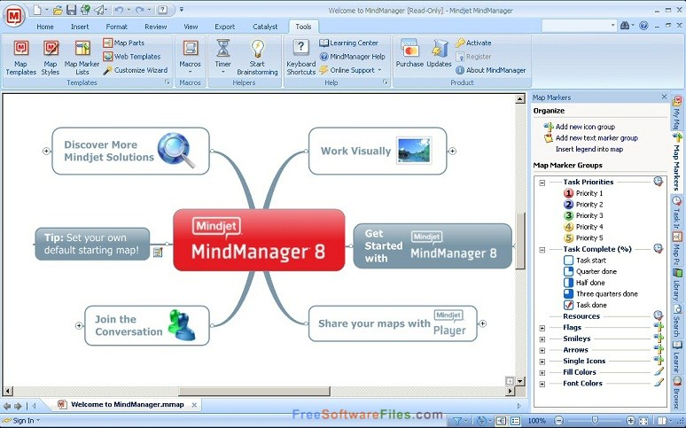 Mindjet MindManager 2018 Offline Installer Download