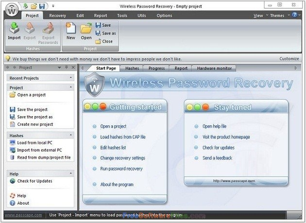 Passcape Wireless Password Recovery Professional 3.9 Direct Link Download