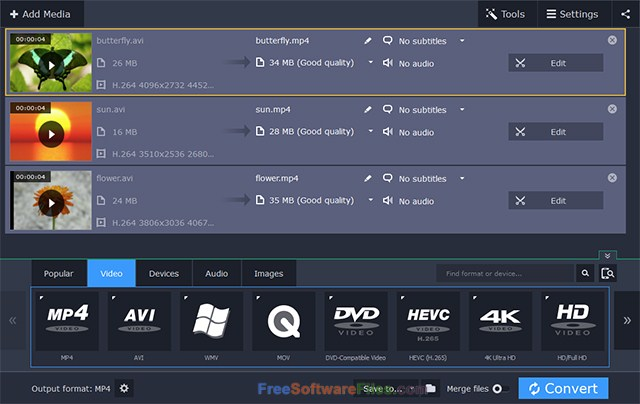 Movavi Video Converter 18 Offline Installer Download