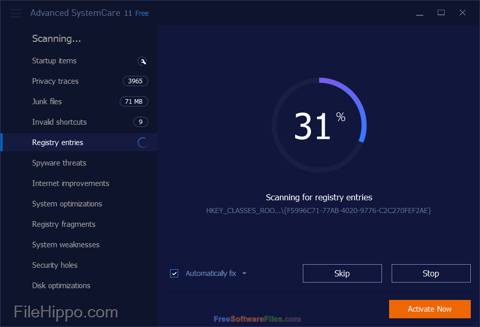 Advanced SystemCare 11 Direct Link Download