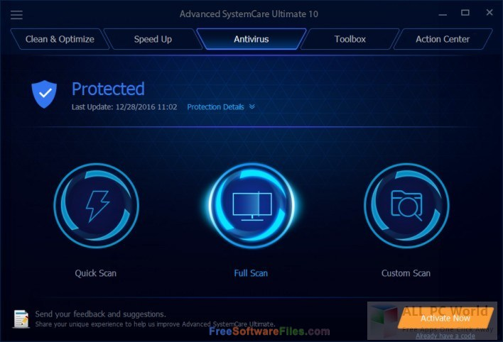 Advanced SystemCare 11 free download full version