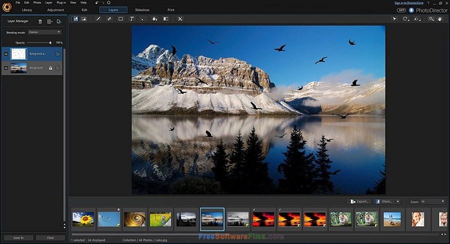 CyberLink PhotoDirector Ultra 9.0.2504 Offline Installer Download