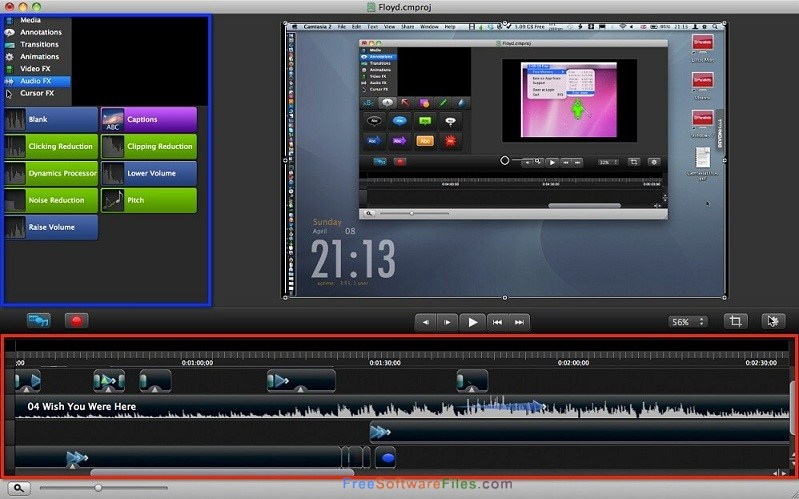 TechSmith Camtasia 3.1.2 for Mac free download full version
