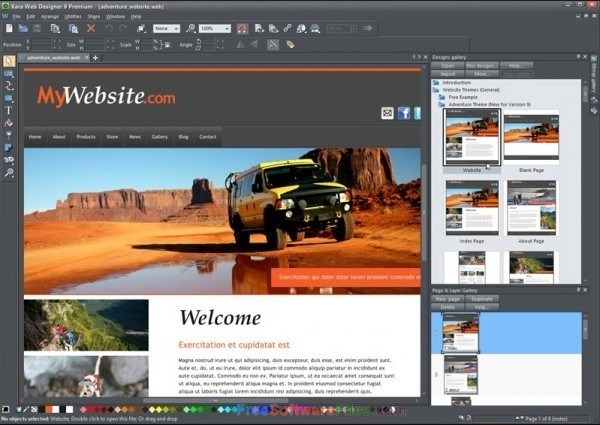 Xara Web Designer Premium 15 Direct Link Download