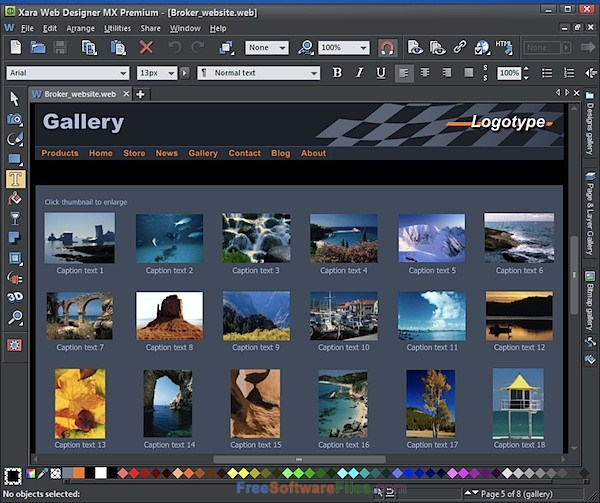 Xara Web Designer Premium 15 Latest Version Download