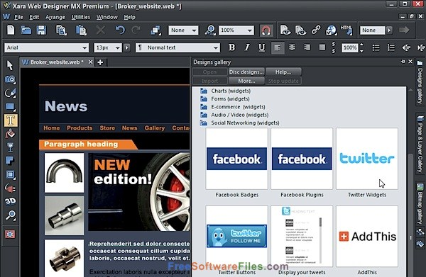 Xara Web Designer Premium 15 Offline Installer Download