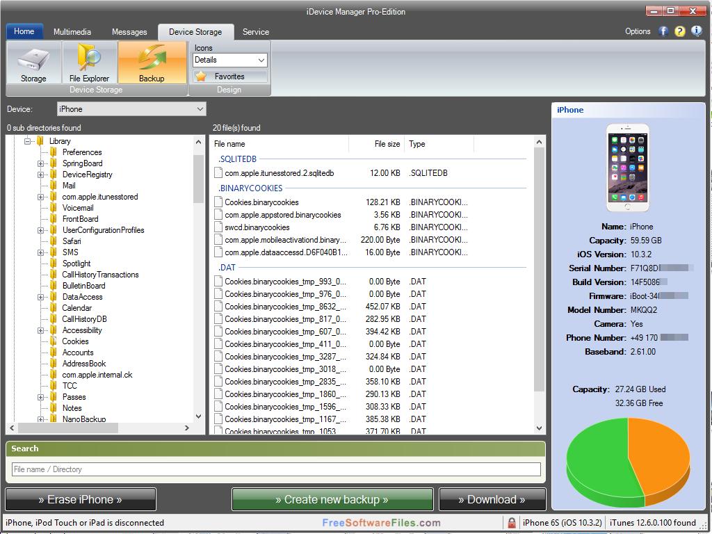 iDevice Manager Pro 7.4 Offline Installer Download