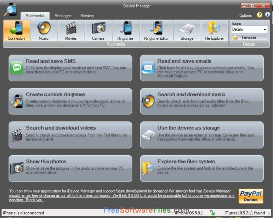 iDevice Manager Pro 7.4 free download full version