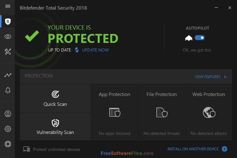 Bitdefender Total Security 2018 Direct Link Download