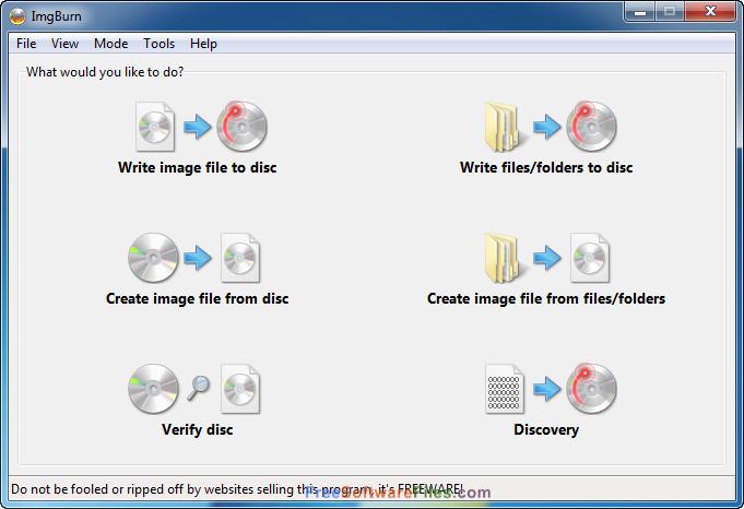 ImgBurn 2.5.8.0 Free Download Latest Version