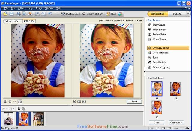 Corel Ulead PhotoImpact X3 free download full version