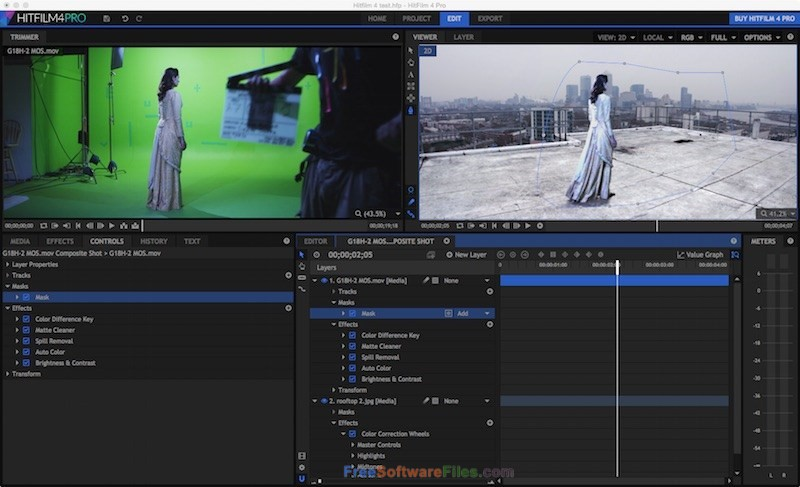 HitFilm 7.1 Pro 2018 Offline Installer Download