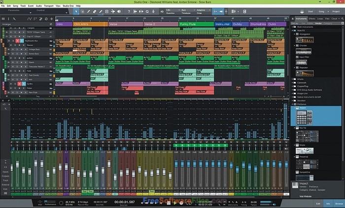 PreSonus Studio One Professional 3.5 Direct Link Download