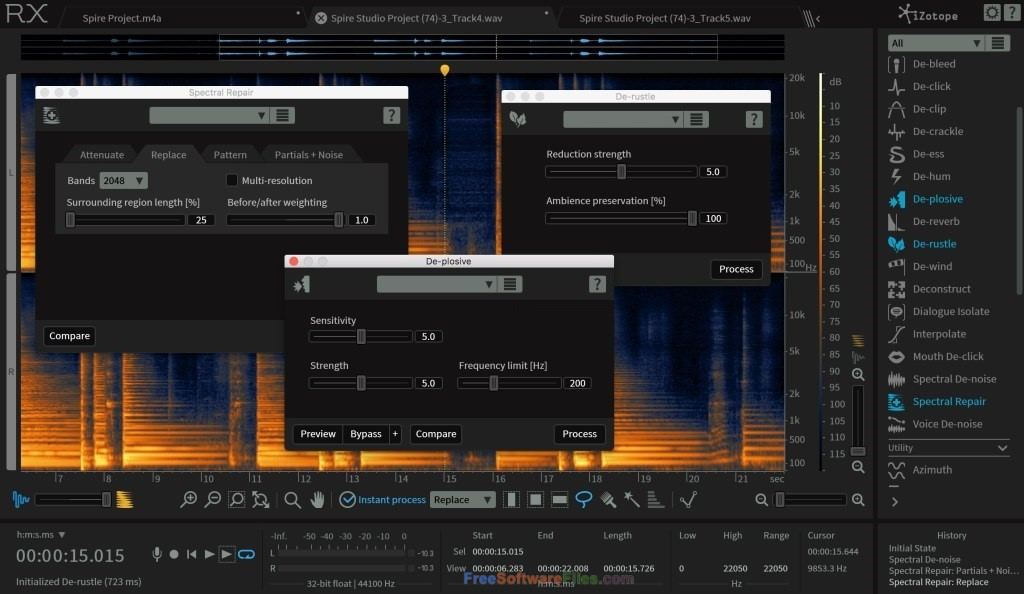 iZotope RX 6 Advanced Audio Editor Direct Link Download