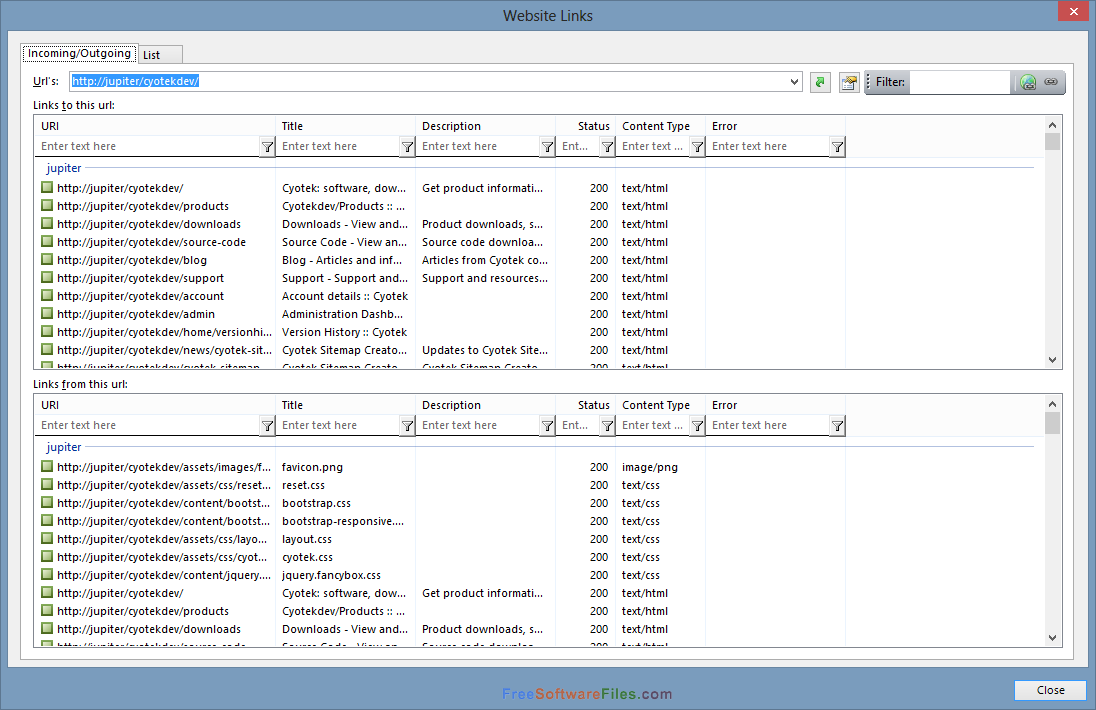 Cyotek WebCopy 1.4.0.469 for Windows