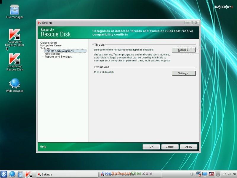 Resultado de imagen de Kaspersky Rescue Disk 10