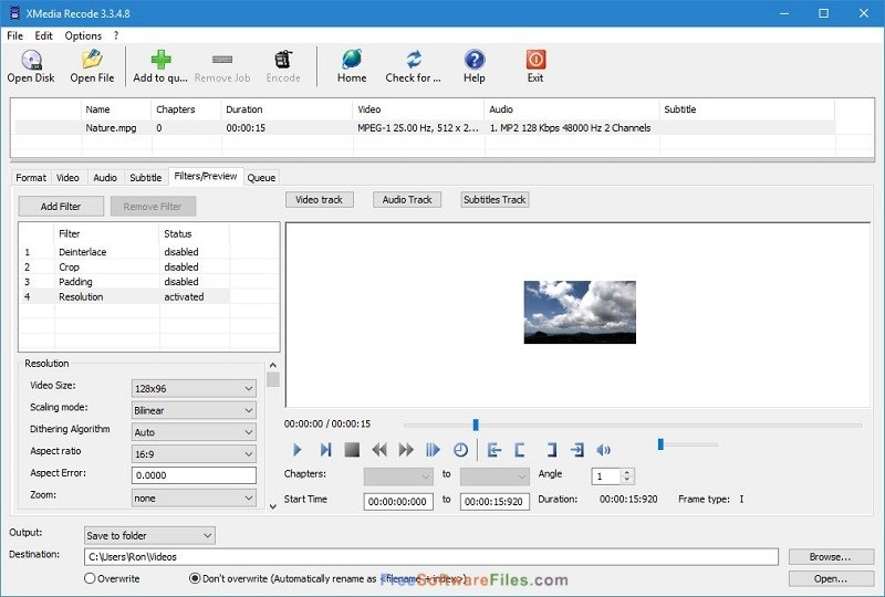 XMedia Recode Portable 3.4.3.4 Free Download for Windows PC