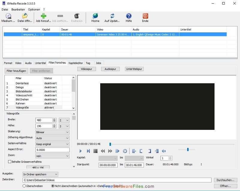 XMedia Recode Portable 3.4.3.4 free download full version