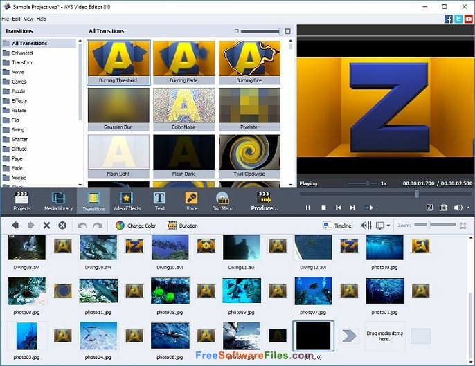 AVS Video Editor 8.1 Free Download for Windows PC