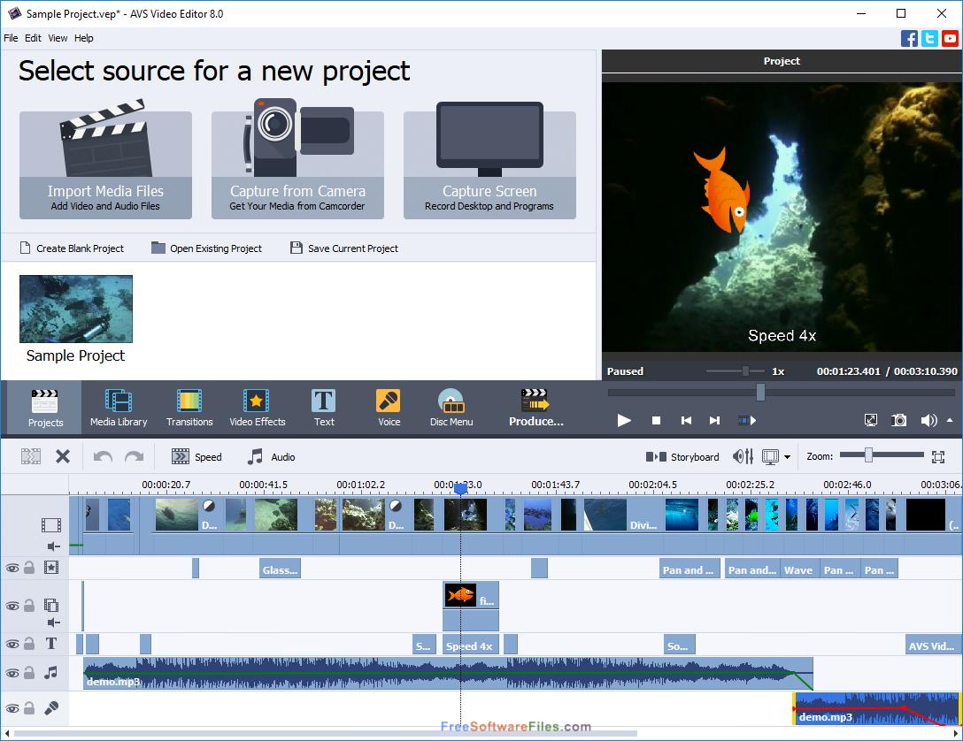 AVS Video Editor 8.1 free download full version