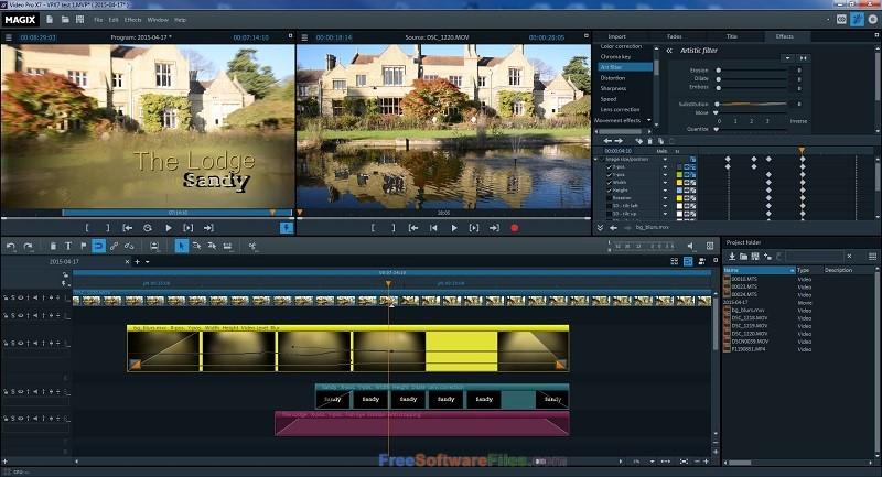 MAGIX Video Pro X 16.0 free download full version