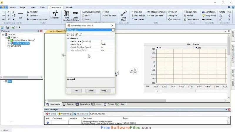 PSCAD 4.5 Free Download for Windows PC