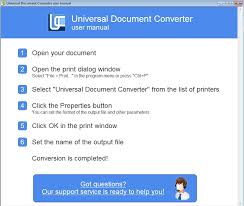 Universal document converter free