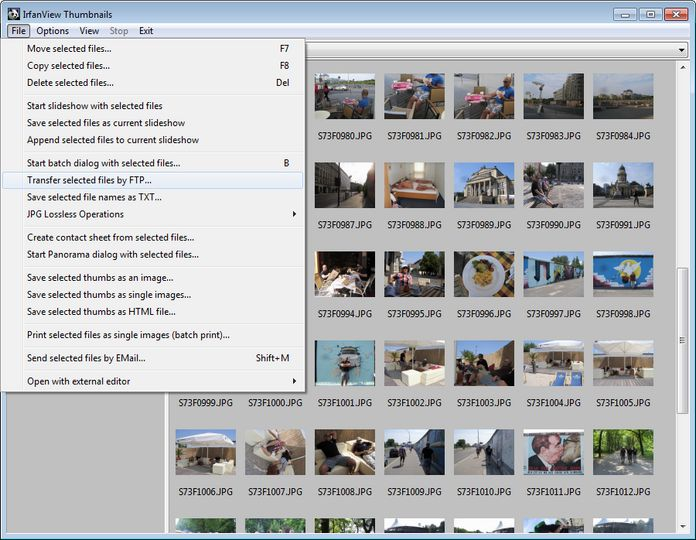 IrfanView photo editing free download software