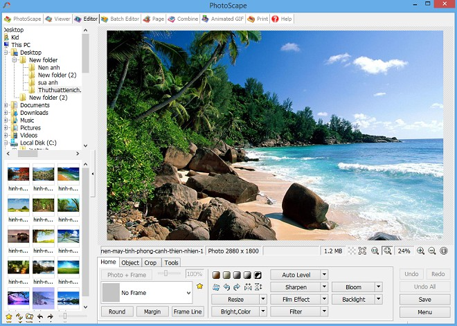 PhotoScape 3.7 Free Download