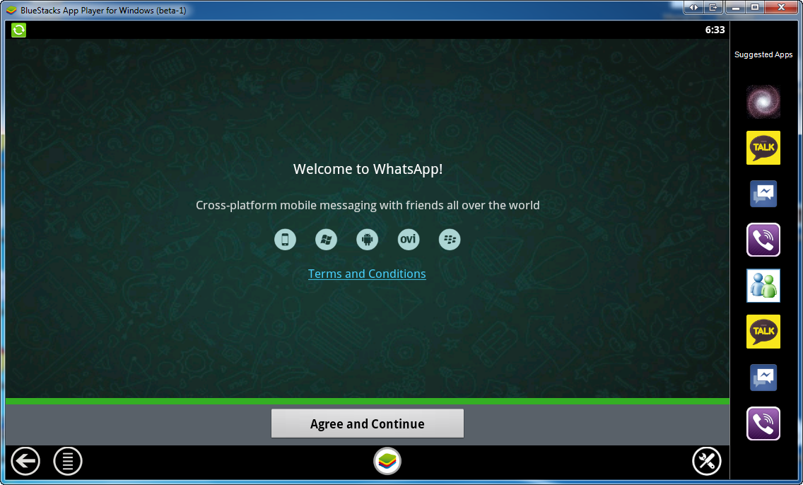 WhatsApp Messenger for Windows PC