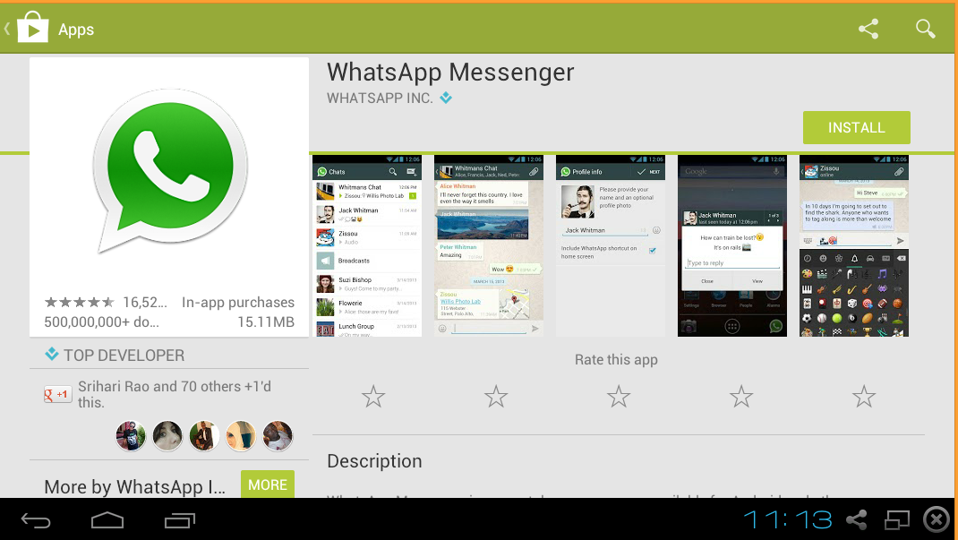 whatsapp Messenger For Windows PC Free Download