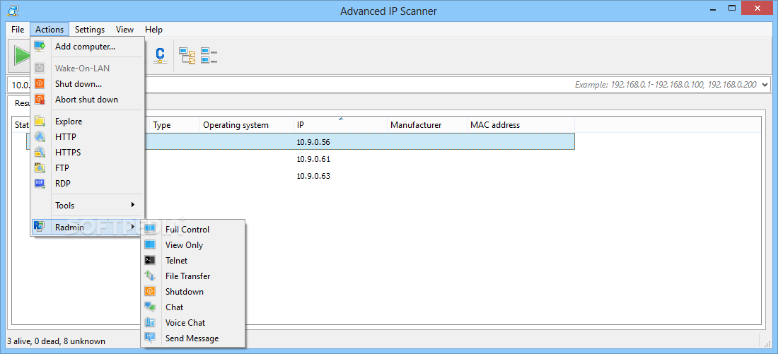 Advanced IP Scanner Free